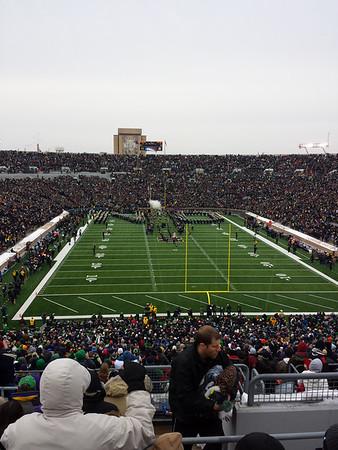 Northwestern vs Notre Dame