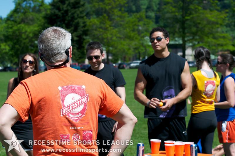 Recesstime Sports Leagues Portland Kickball Spring 2013 Dodgeball Bowling Ping Pong Mushball - 113