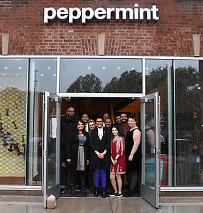 Shop Peppermint grand opening. 10/20/2016