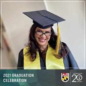 May 03, 2021 - The Universities at Shady Grove Virtual Graduation Celebration