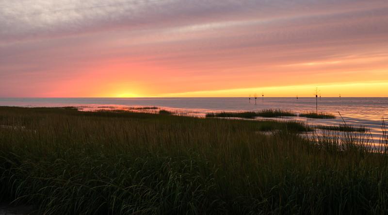 Sunset at Rock Harbor Beach