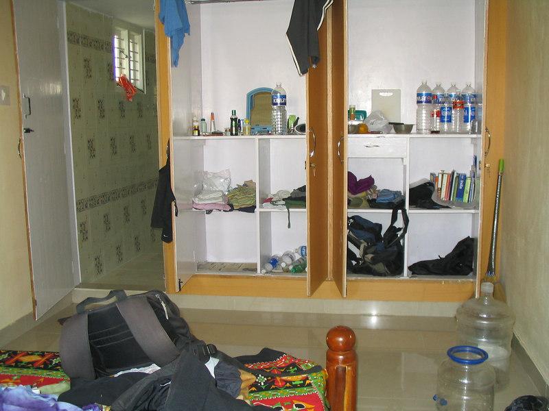 My room in Vijay Nagar.