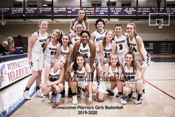 2019-12-20 WHS Girls Basketball vs Portsmouth