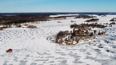 Boldt Castle - Winter