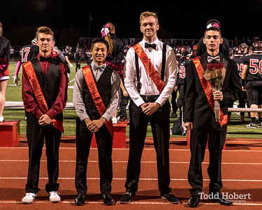 Orting Homecoming Court 2016