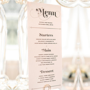 28910 Placecard and menu holder