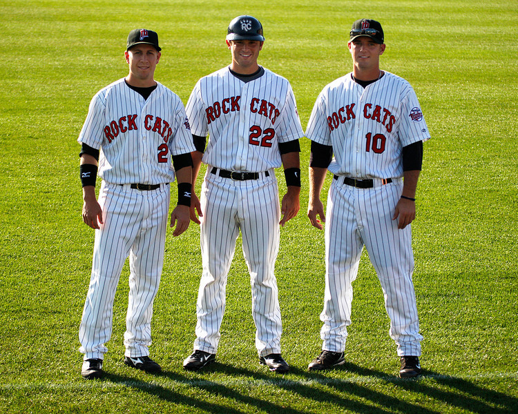 Steve Tolleson, Drew Butera & Toby Gardenhire are 2nd generation ball players. Their fathers are: Wayne, Sal, & Ron (respectively)