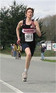 2003 Sooke River 10K - Wendy Davies