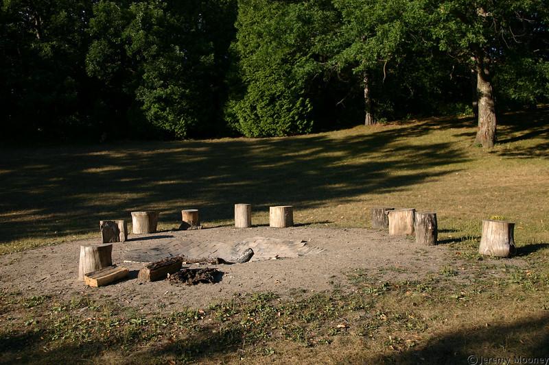 Seminary Hill fire pit