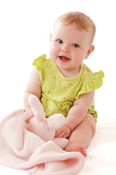 Happy baby portrait by Jeanne McRight, Pix Photography