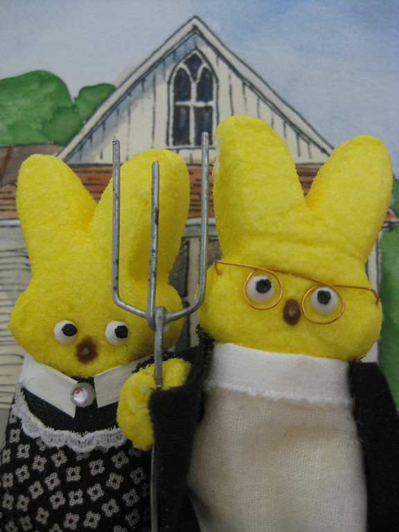 ". <b>HONORABLE MENTION:</b> ""American Gothic,\"" by Nina Fan, Falcon Heights"
