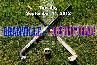 2012 Granville at Olentangy Orange VARSITY (09-11-12)