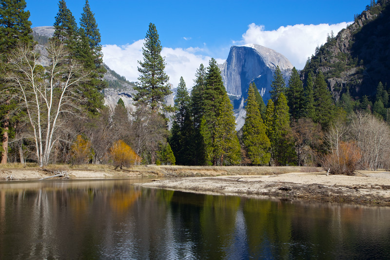 YOS-140225-0005 Merced River and Half Dome