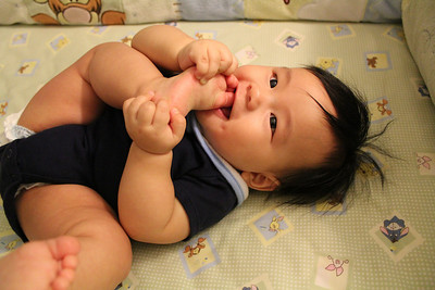 Micah 6 Months Old