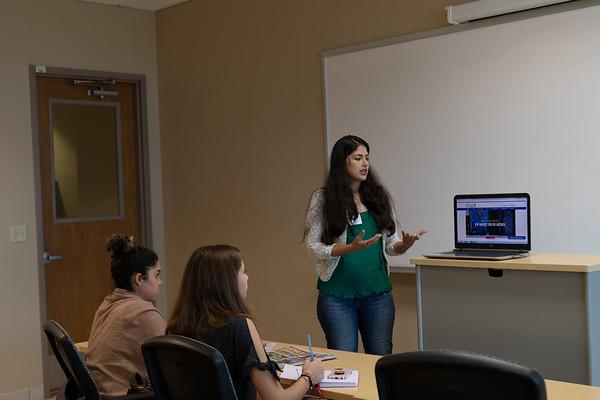 Karla presenta el Caño en UPR