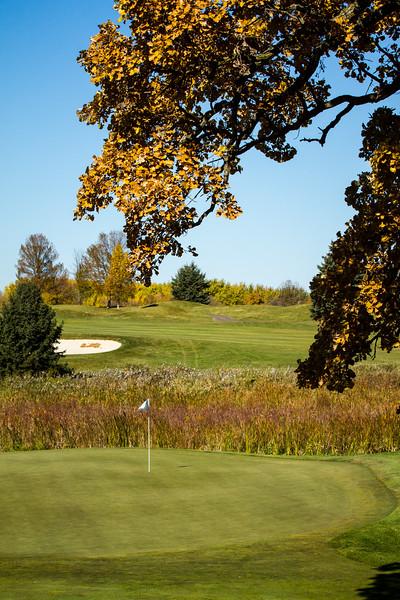 Rush Creek Golf Club Fall Color