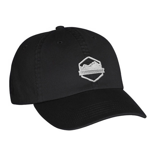 Organ Mountain Outfitters - Outdoor Apparel - Hat - Logo Dad Cap - Black.jpg