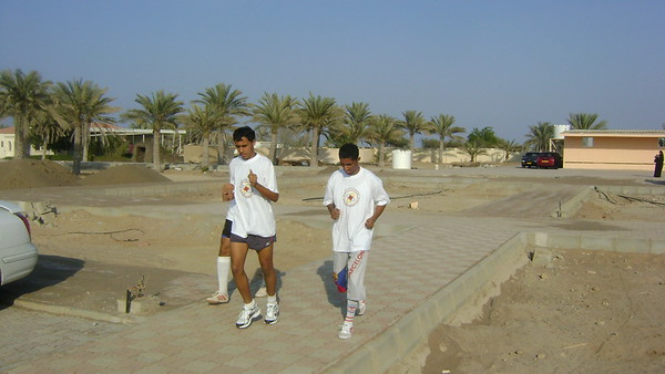 Marathon event organized by Oman College of Management and Technology