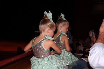 Abbie and Katie's dance recital