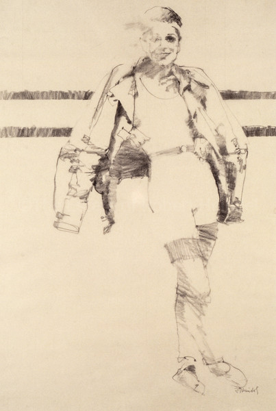 Drawing for Marian St. Claire II (c1980s)