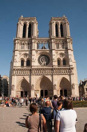 FRANCE - Notre Dame Cathedral - Paris