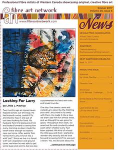 Fibre Art Network Newsletter Editorial Summer 2017