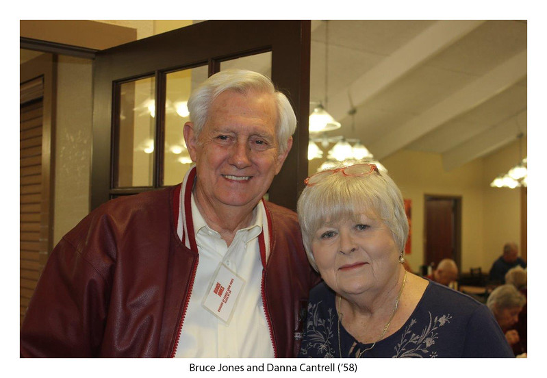 Bruce Jones (Connie Shaw Jones '59) and Danna Cantrell Splawn '58.jpg