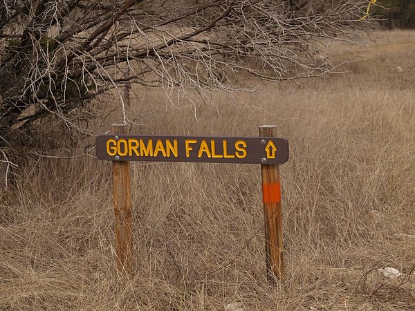 Gorman Falls 2.28.2010