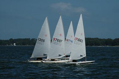 2007 Chesapeake Bay Laser Masters