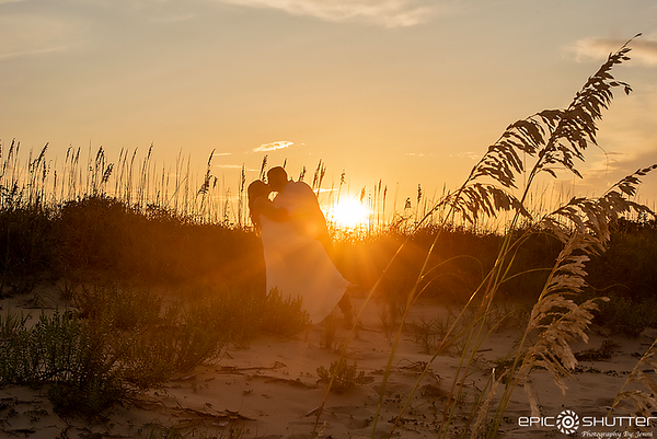 Casandra and Joey, Engagement Portraits, Coquina Beach, Bodie Island Lighthouse