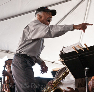 Gerald Wilson at the 2010 Central Ave. Jazz Festival