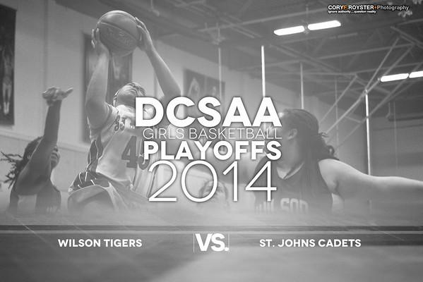 DCSAA Playoffs Girls Wilson v St. Johns