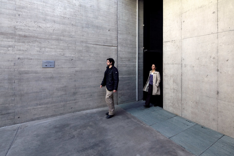 Exiting the memorial (Courtesy Alfredo Jaar Studio)