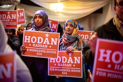 Hodan Hassan Re-election Rally 1.24.20