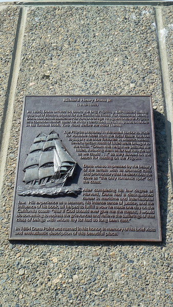 Dana Point Statue Plaque