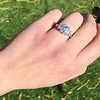 2.50ctw Emerald Cut Diamond 3-stone Ring, GIA E VS1 9