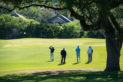 Golf at Barton Creek Country Club with Ben Crenshaw & Tom Kite