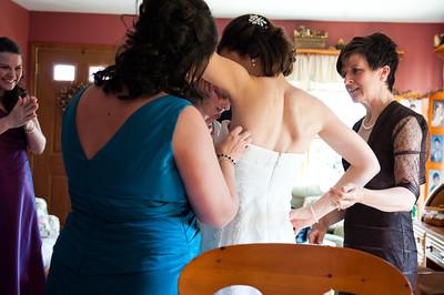 Wedding Elyse and Jim Behind the Scenes