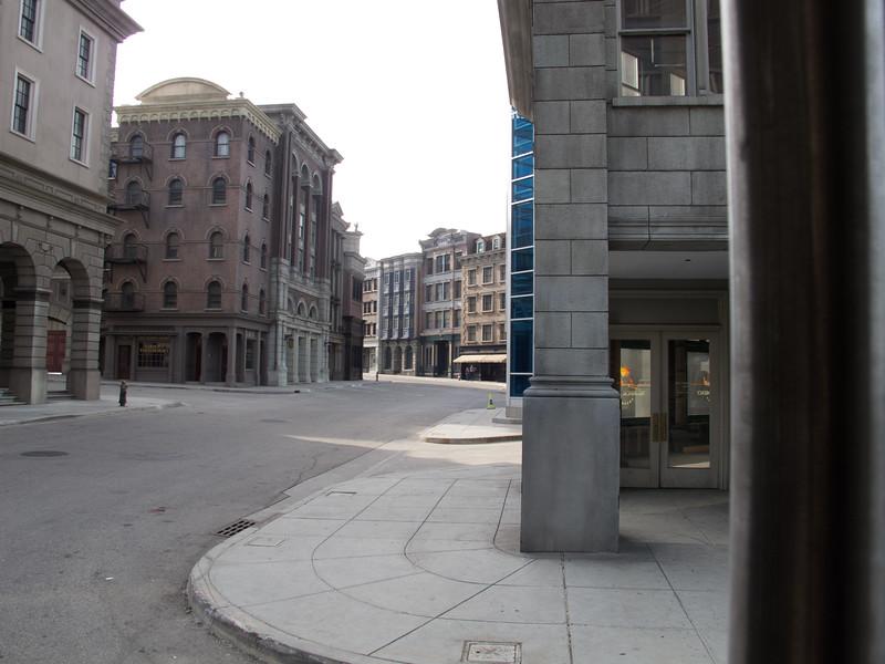 Another Movie set city street