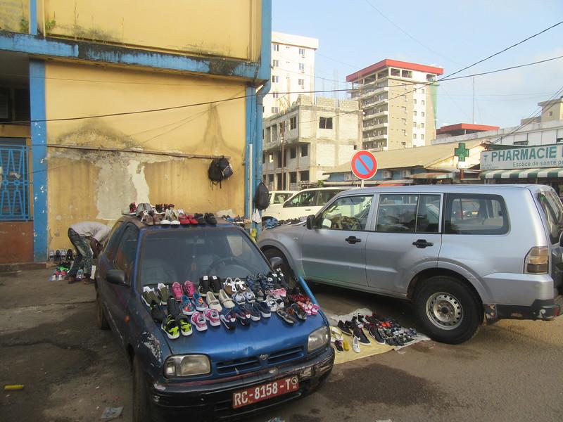 006_Guinée. Conakry. Bâti sur la Péninsule de Kaloum.JPG