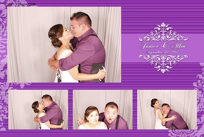Janice and Allen PhotoBooth
