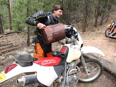 Jemez Mtns. - Joaquin {Log Truck}-Deer Creek-Crow Spring Canyons Trailride  5-12-12