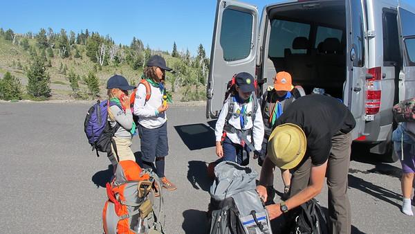 Mt. Logan Scouting Trip