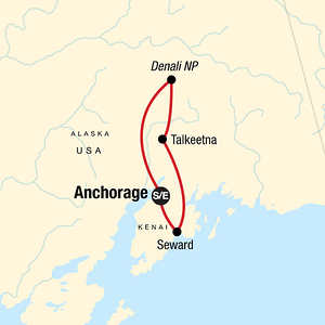 Top tour of Alaska Highlights