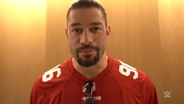 Roman Reigns - Screencaps / WWE Video 49ers Game
