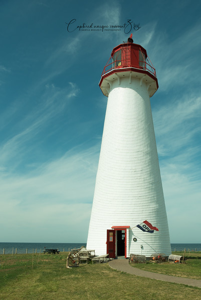 Lighthouse at Point Prim, PEI