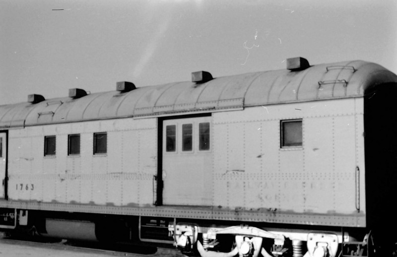 UP 1763, Horse Baggage Automobile, built by AC&F in March 1924. Salt Lake City.