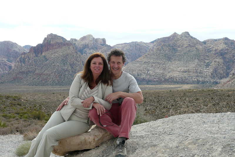 High Point Overlook. Red Rock Canyon