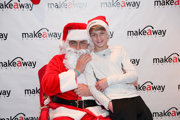 Make-A-Way Charities - SANTA pics -12/13/13