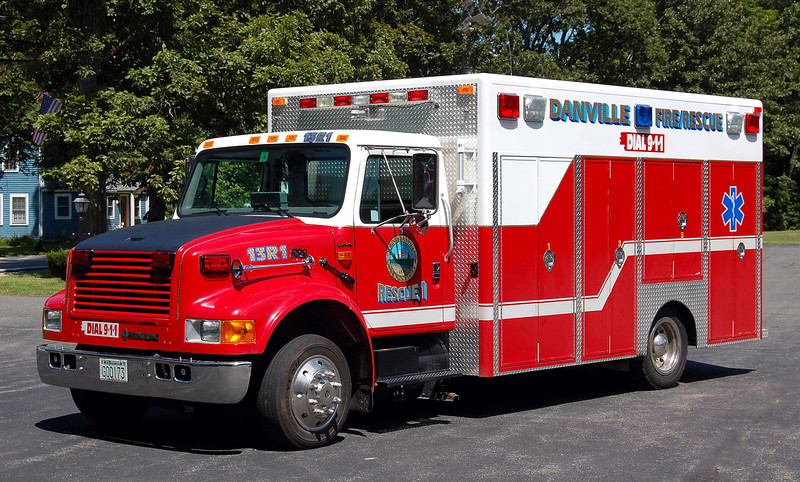 RETIRED  Rescue 1 1994 International / CRS